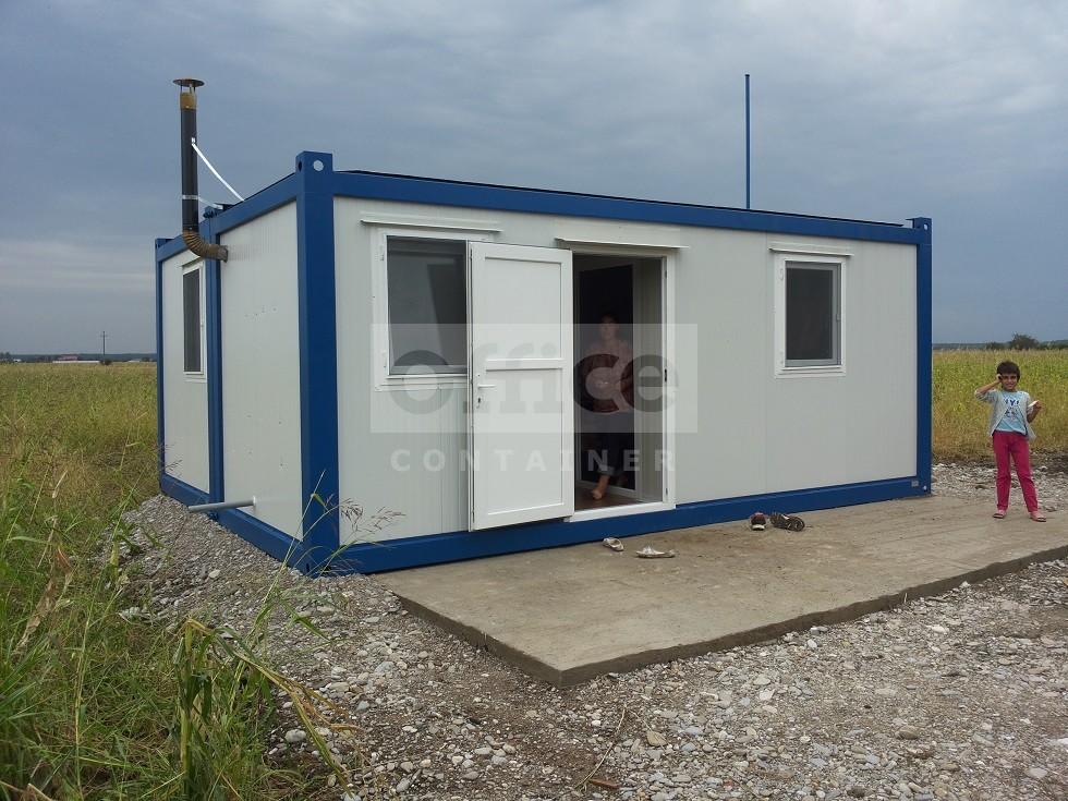 Container de locuit tip casa